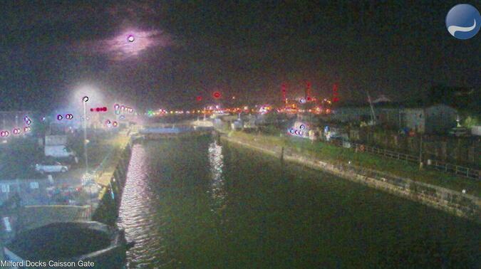 Webcam Milford Docks